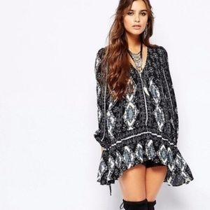 Free People 60's Festival Down By The Bay Tunic